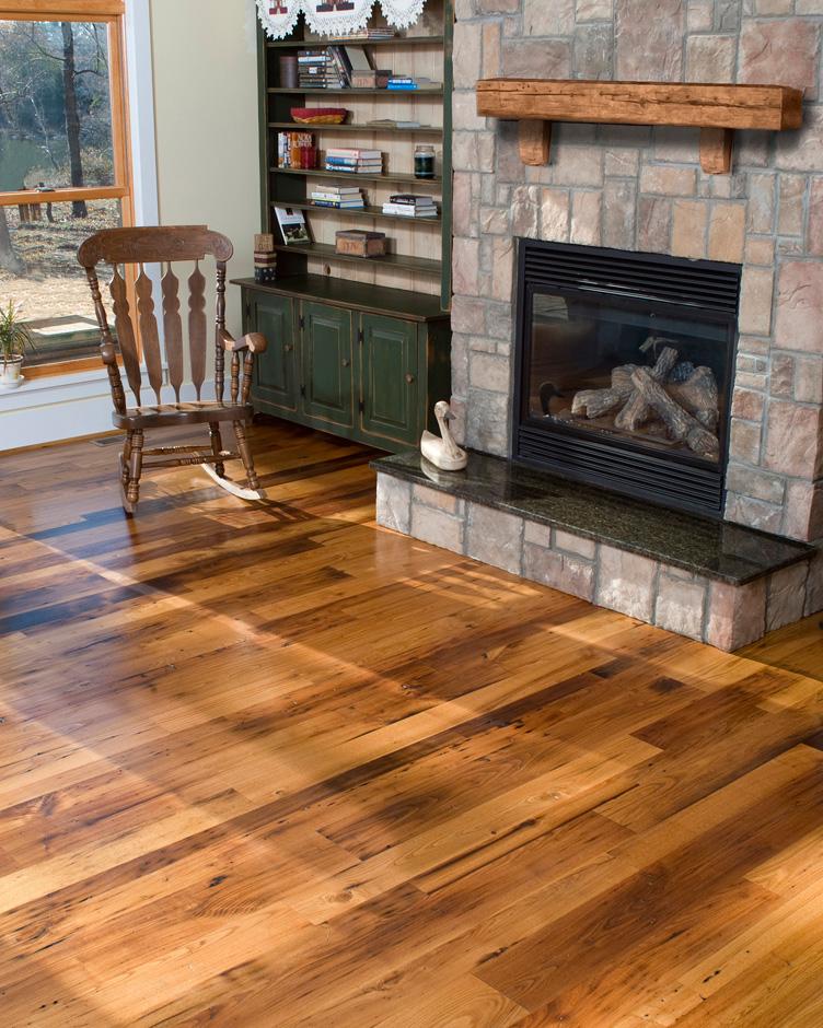 Antique & Reclaimed Wormy Chestnut Hardwood Flooring