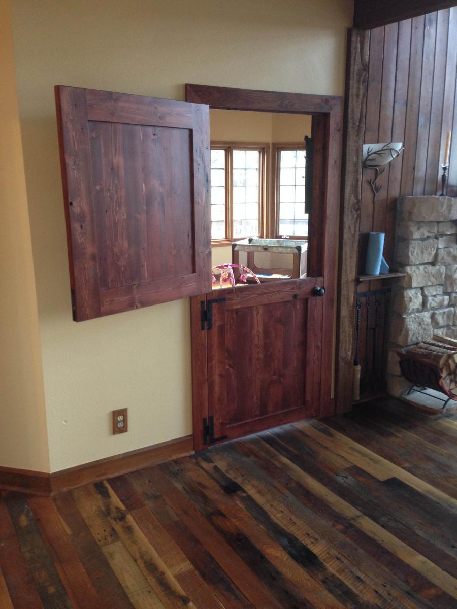Custom Barn Doors Amp More Hardwood Refinishing Colorado