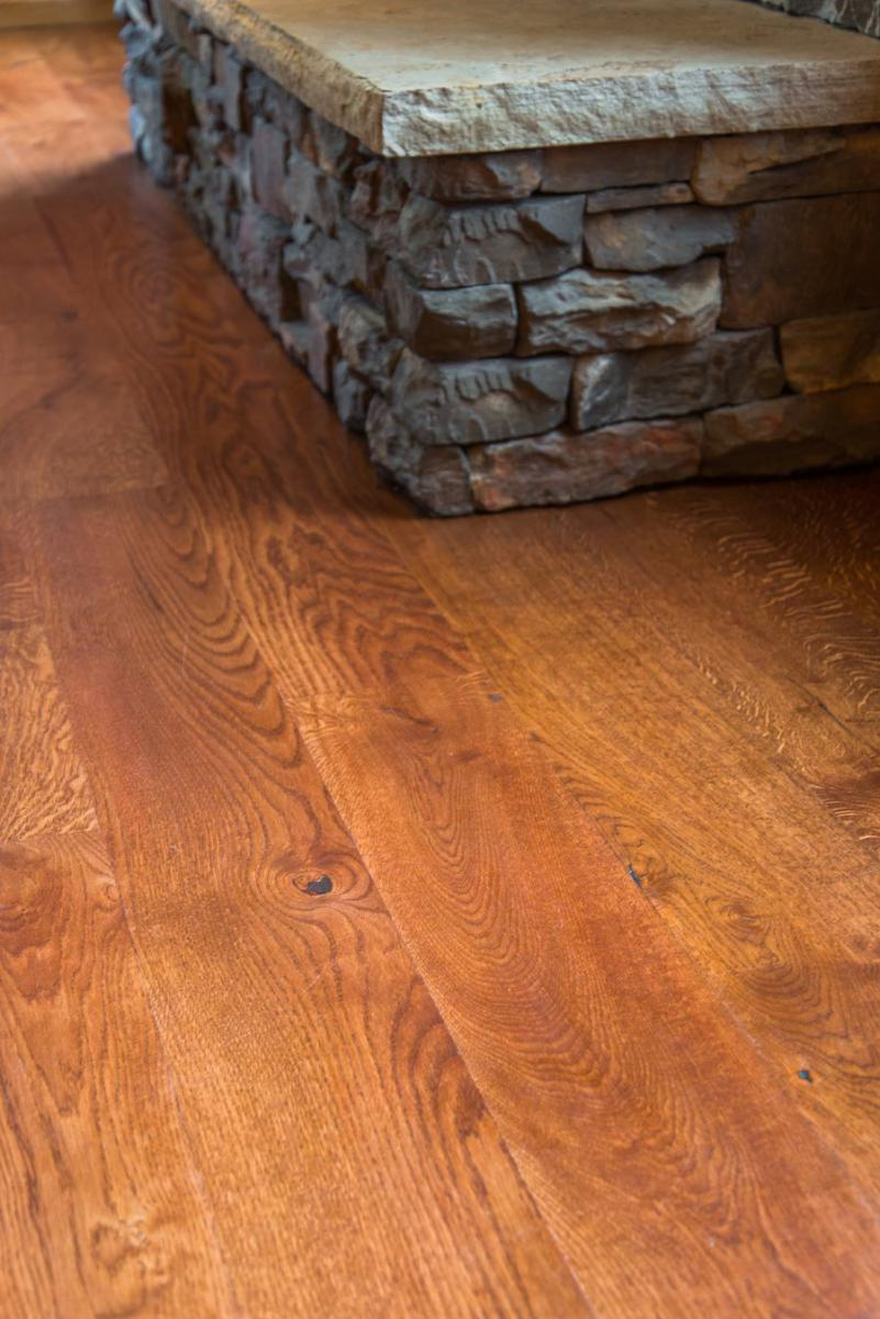 Gallery Rustic White Oak Hardwood Floor Refinishing