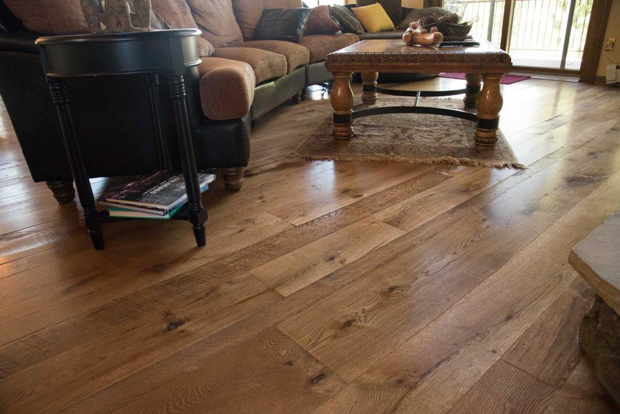 Gallery Live Sawn White Oak Hardwood Flooring Colorado Ward