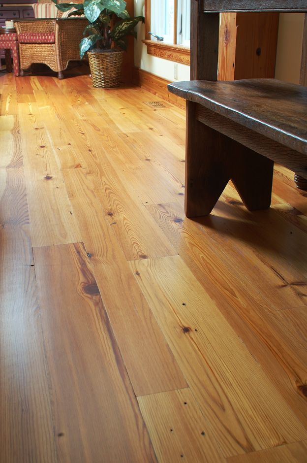 Antique Amp Reclaimed Heart Pine Hardwood Flooring Ward