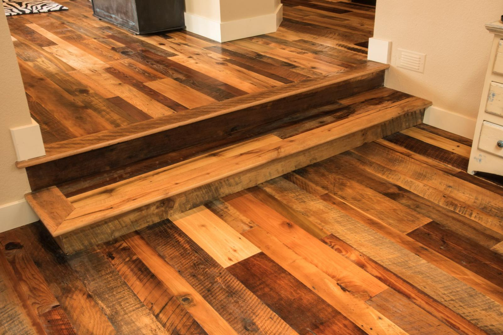 Old world antique reclaimed blend hardwood flooring for Old world floors