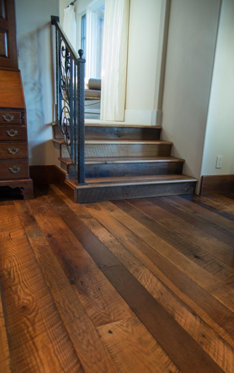 Antique Amp Reclaimed Oak Hardwood Flooring Evergreen Co