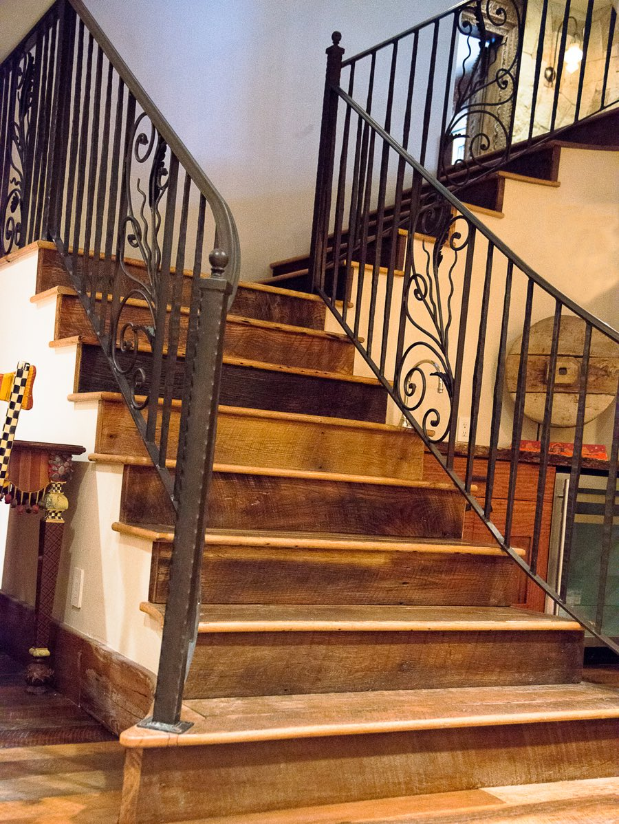 Stairs Amp Hand Rails Hardwood Flooring Colorado Ward