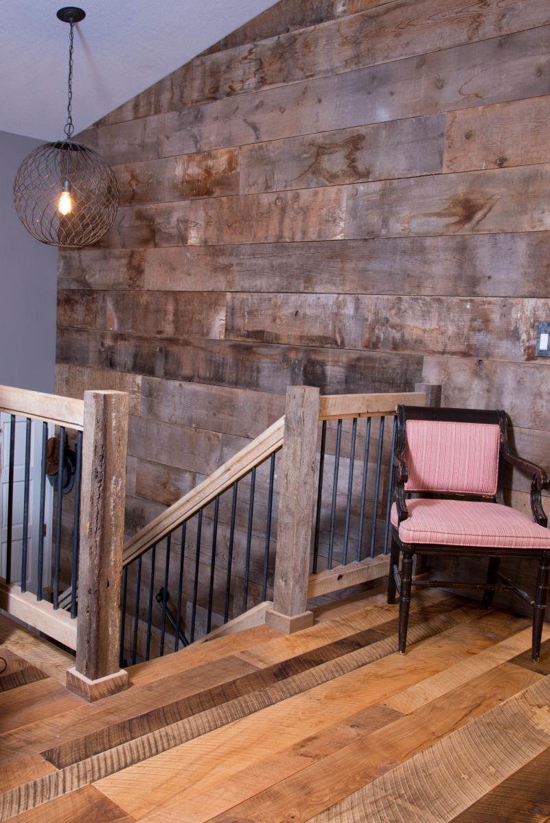 Reclaimed Hardwood Wall Treatments Ward Hardwood Flooring