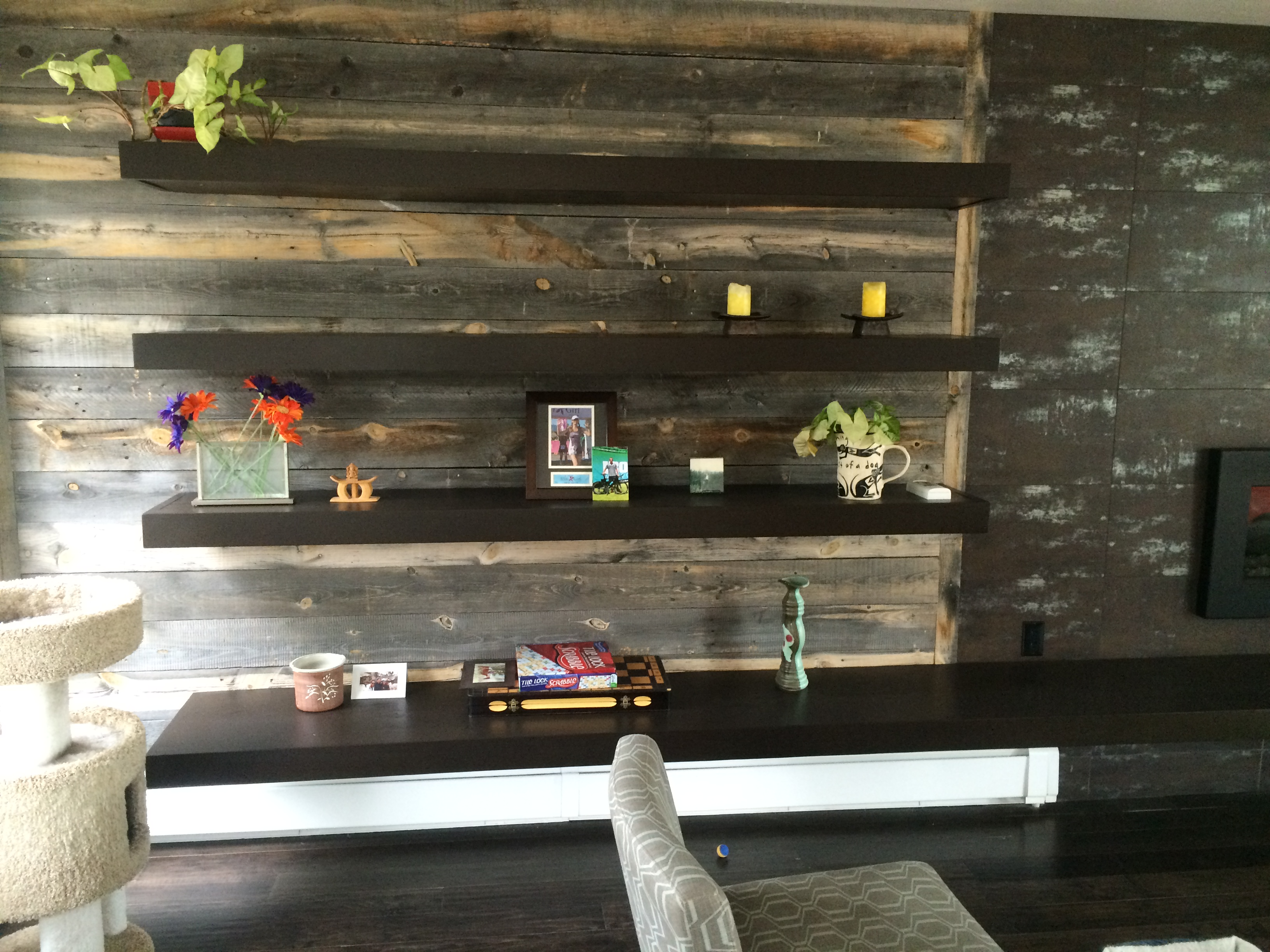 Reclaimed Wood Accents Bring Your