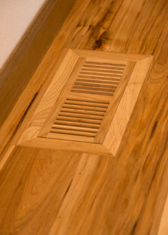 wooden floor vents