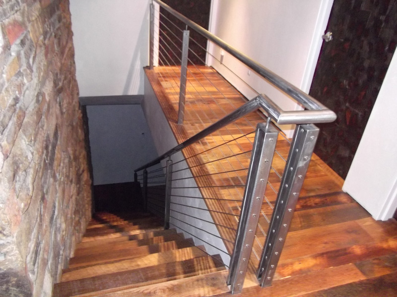 hardwood stairs Denver